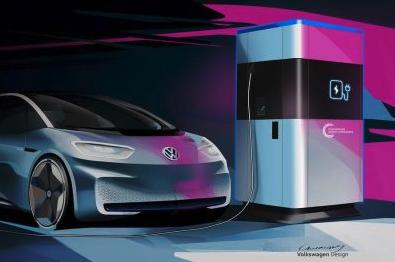 VW unveils plans for portable EV charging stations